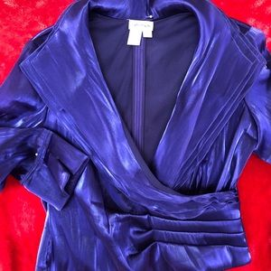 Gorgeous Purple flouncy blouse